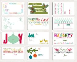 Holiday Tags Cards Gifts Christmas  A Papered LifeChristmas Gift Tag Design