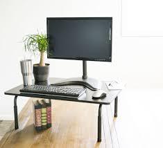 desktop computer table. Top 71 Divine Stand Up Table Standing Work Desk Small Attachment Inventiveness Desktop Computer