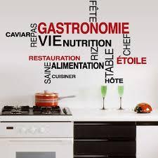 Pas Cher Livraison Gratuite Bricolage Mots Cuisine Wall Sticker