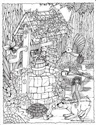 Humming Belles Coloring Pages
