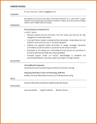 Cover Letter Examples For Financial Analyst Cover Letter Sample