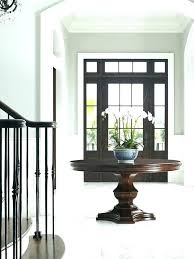 modern foyer table grand pedestal contemporary