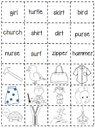 Say a sound and children identify the correct letter(s) by circling/colouring. Er Ir Ur Phonics Worksheets First Grade Shenanigans Work Freebie Jaimie Bleck
