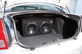 planning a car stereo system in stages and on a budget subwoofer