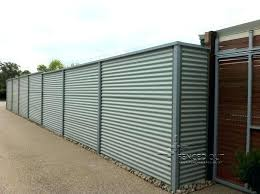 metal fence designs. How To Build A Corrugated Metal Fence All Steel Sheet  Designs Astonishing S