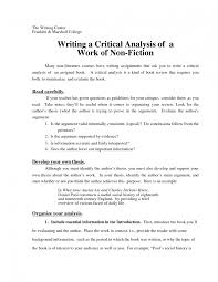 sample critical analysis essay writing essays how to write a book
