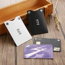 10 Pcs/Pack <b>Rfid</b> Card <b>Protection Bank</b> Card Case <b>Anti</b> theft <b>Rfid</b> ...