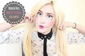 zombie barbie in this makeup tutorial