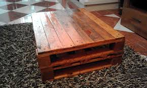... Catchy Coffee Table Out Of Pallets and Rustic Coffee Table Made Out Of  Pallets ...