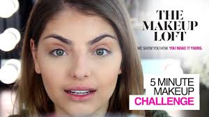 5 minute flawless makeup challenge with heidi hamoud the makeup loft maybelline new york