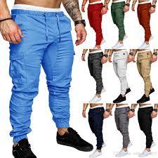 Designer Joggers Sale 2019 Luxury Designer Mens Joggers Sweatpants Casual Men Trousers Overalls Tactics Pants Elastic Waist Cargo Pants Fashion Jogger Pants From