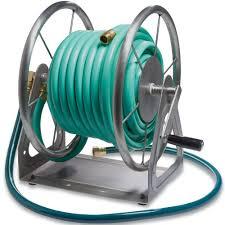3 in 1 garden hose reel in garden hose storage