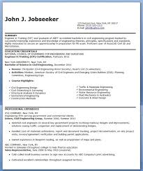 Resume Objective Civil Engineer Civil Engineer Resume Sample EntryLevel Creative Resume 40