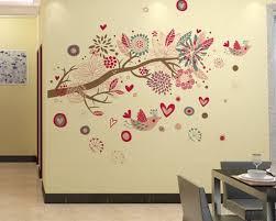 bohemia style tree and birds 58 bohemia style tree and birds wall art stickers