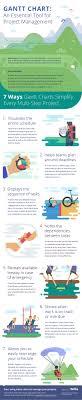 Gantt Chart Infographic Gantt Chart Software A Key Tool For Project Management