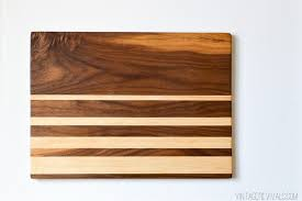 diy simple cutting board 13