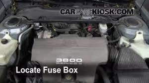 interior fuse box location 1992 1999 pontiac bonneville 1997 replace a fuse 1992 1999 pontiac bonneville