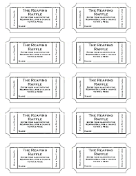 Raffle Ticket Template Publisher Free Printable Raffle Ticket Template Numbered Tickets Online Use