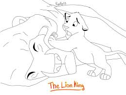 Lion King Scar Coloring Pages Wumingme