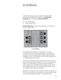 basics of meter mounting equipment siemens cources 41