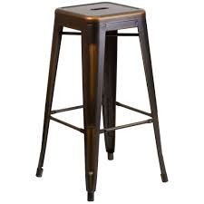 distressed metal bar stools. plain stools distressed copper bar stool and metal stools 6