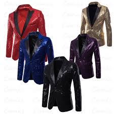 Mens Suit Size Chart Us Details About Us Mens Suit Tops Sequins Clubs Wedding Party Tuxedo Dinner Formal Jacket Coat