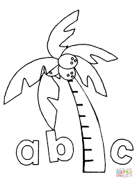 Small Picture Chicka Chicka Boom Boom Abc coloring page Free Printable