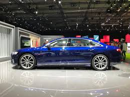 2018 audi s8 plus. plain audi the shoulder line that starts at the front fender and works all way to  trunklid gives car some real presence makes it look sharp  and 2018 audi s8 plus