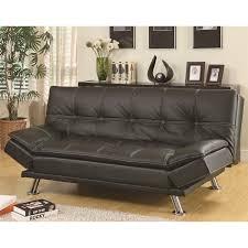brilliant futon sleeper couch coaster furniture