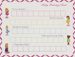 Disney Princess Behavior Chart Disney Princess Printable Potty Training Chart By Hot