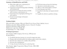 Financial Analyst Resume Examples Financial Data Analyst Resume ...