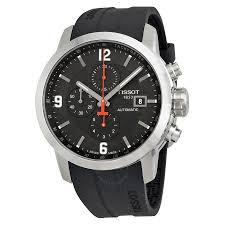 tissot prc 200 automatic black dial men s watch t0554271705700
