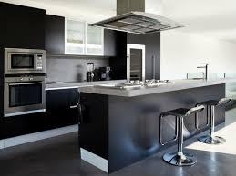 Cuisine Grise Et Noire Inspiration Design Cool Cuisine Noir Et