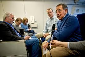 u s department of defense photo essay u s defense secretary leon e panetta conducts a press conference aboard a u s air force