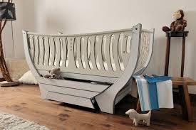 blue nursery furniture. Bespoke Nursery Furniture - The Domani Cotbed Blue T