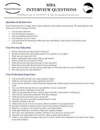 Motivation Interview Questions Mba Interview Questions Students