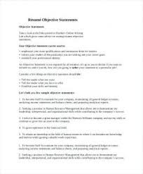 Great Objectives For Resume Best Ideas Of Resume Job Objective Security Objectives Resume 78
