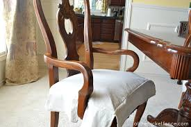 dining chair cushions with skirt. arm_chair_drop_cloth_chair_skirt atthepicketfence.com dining chair cushions with skirt i