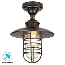 hampton bay dual purpose 1 light outdoor hanging oil rubbed bronze pendant or
