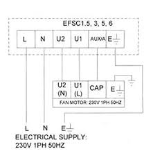 speed controller wiring diagram cadamp efsc1 5 1ph 1 5amp fan speed controller efsc1 5 nfan wiring diagrams
