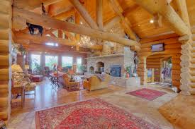 Collection Log House Interior Photos The Latest Architectural - Log home pictures interior