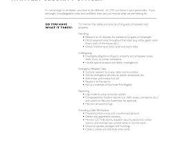 Cover Letter For Security Job Collection Of Solutions Guard Resume