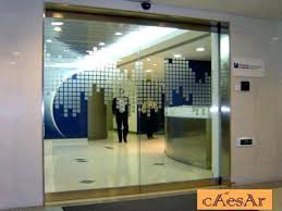 glass sliding entrance doors glass entry doors residential office entrance doors office front doors automatic tempered