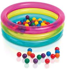 Сухие <b>бассейны</b> и шарики купить в интернет-магазине OZON.ru