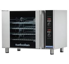 turbofan e31d4 half size sheet pan digital electric convection electric