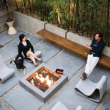 modern concrete patio furniture. Loop Chair Modern Concrete Outdoor Patio Furniture