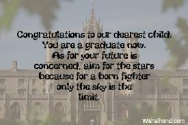 Graduation Quotes For Son Adorable Graduation Messages From Parents