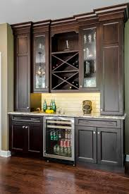 Image Wine Cabinet Kitchen Dry Bartraditional Home Bar Chicago Houzz Kitchen Dry Bar Traditional Home Bar Chicago By Geneva