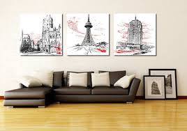 wall art for home office. Home Office Wall Decor Fresh 3 Piece Canvas Art Decoration Abstract For