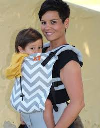 carrier for toddler. tula carrier gray zigzag for toddler